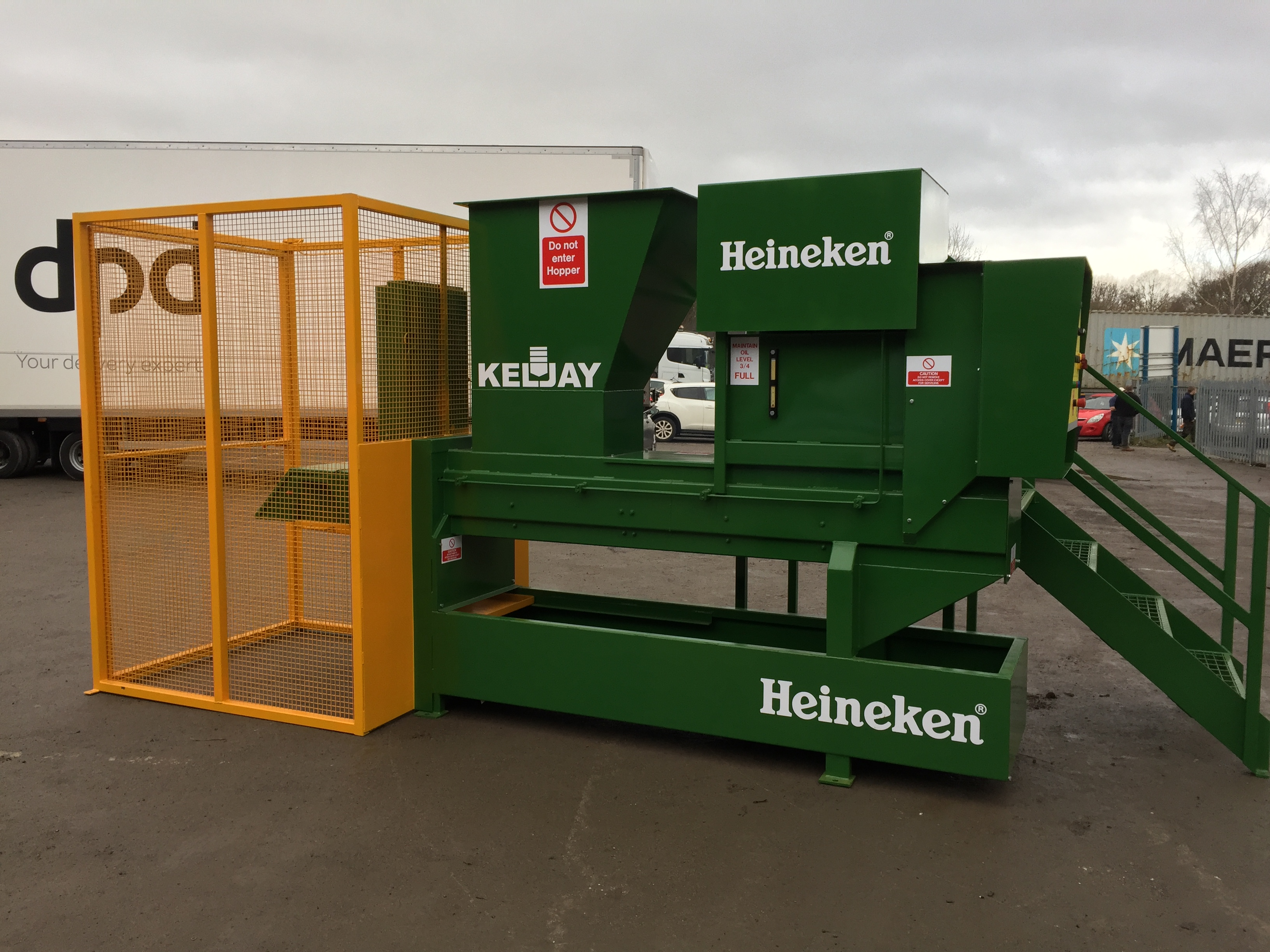 Glass Crusher for Heineken!