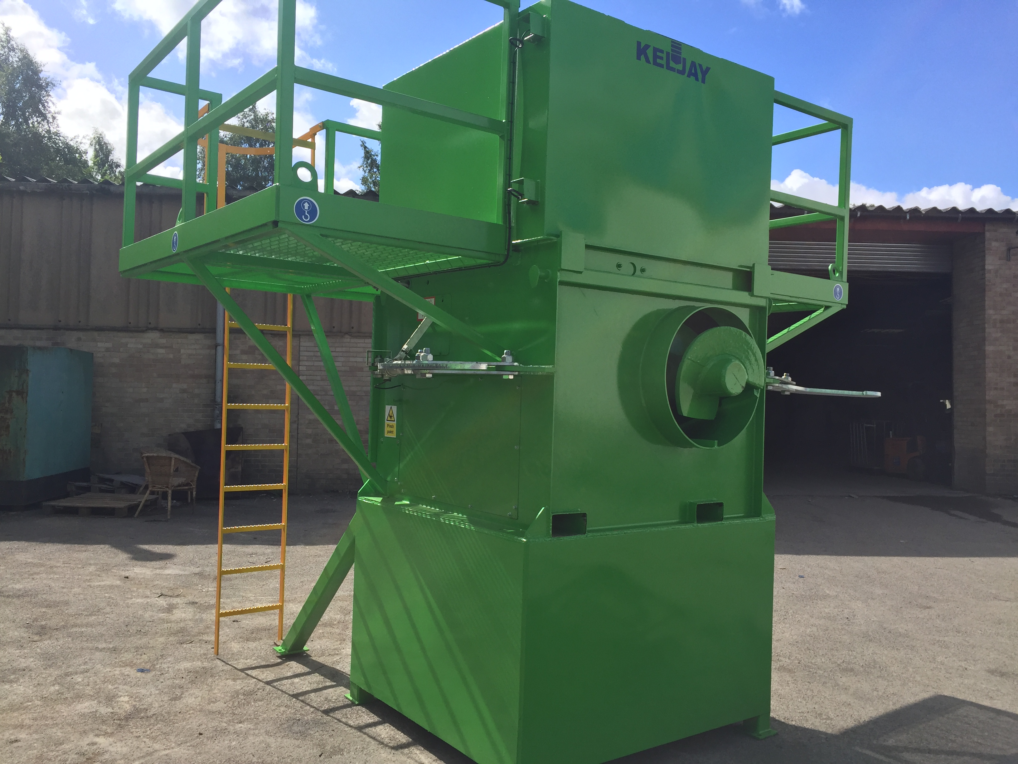 Keljay's Brand New Bio Screw Compactor