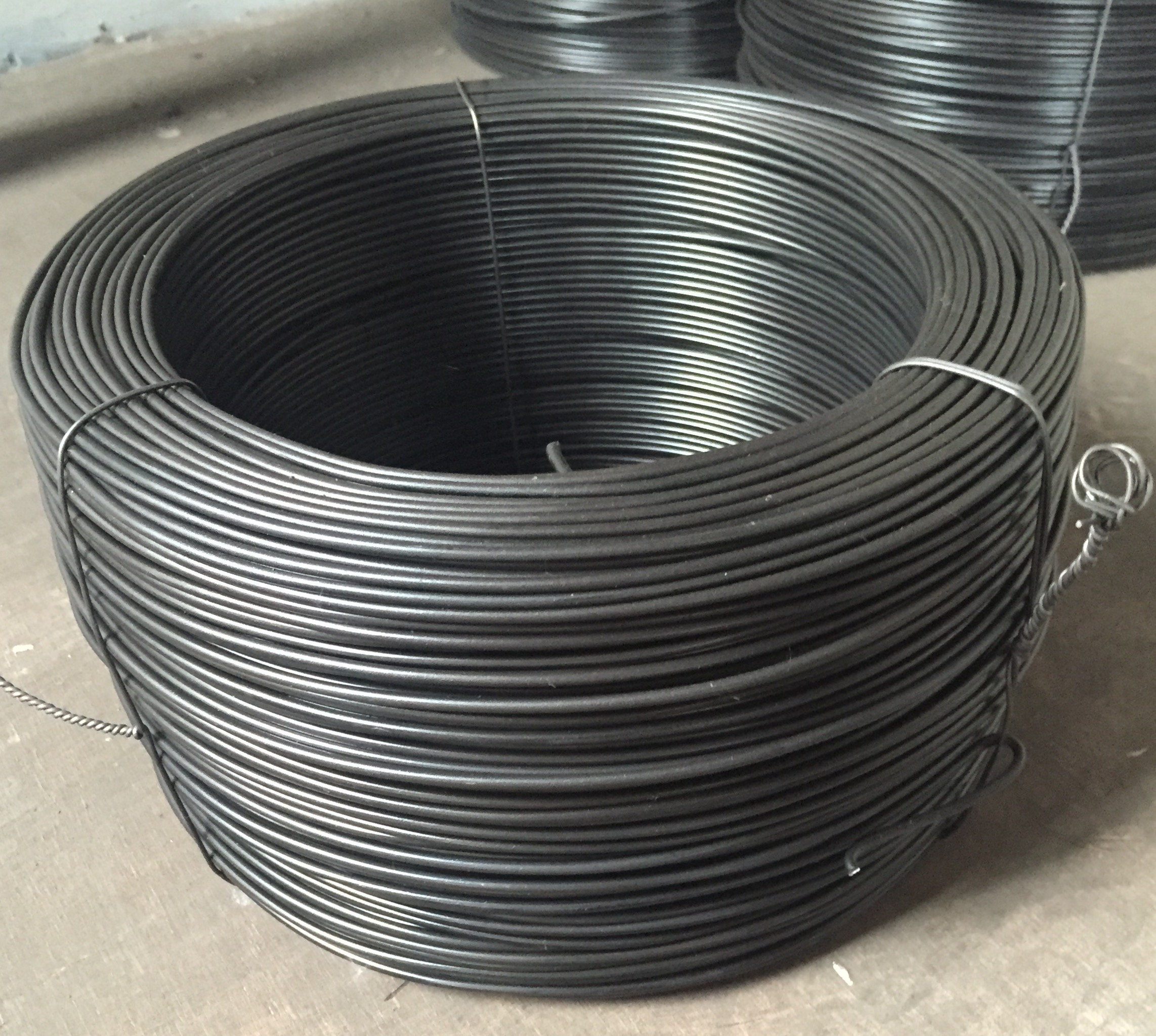 Baling Wire Product : Rewound coils of baling wire keljay