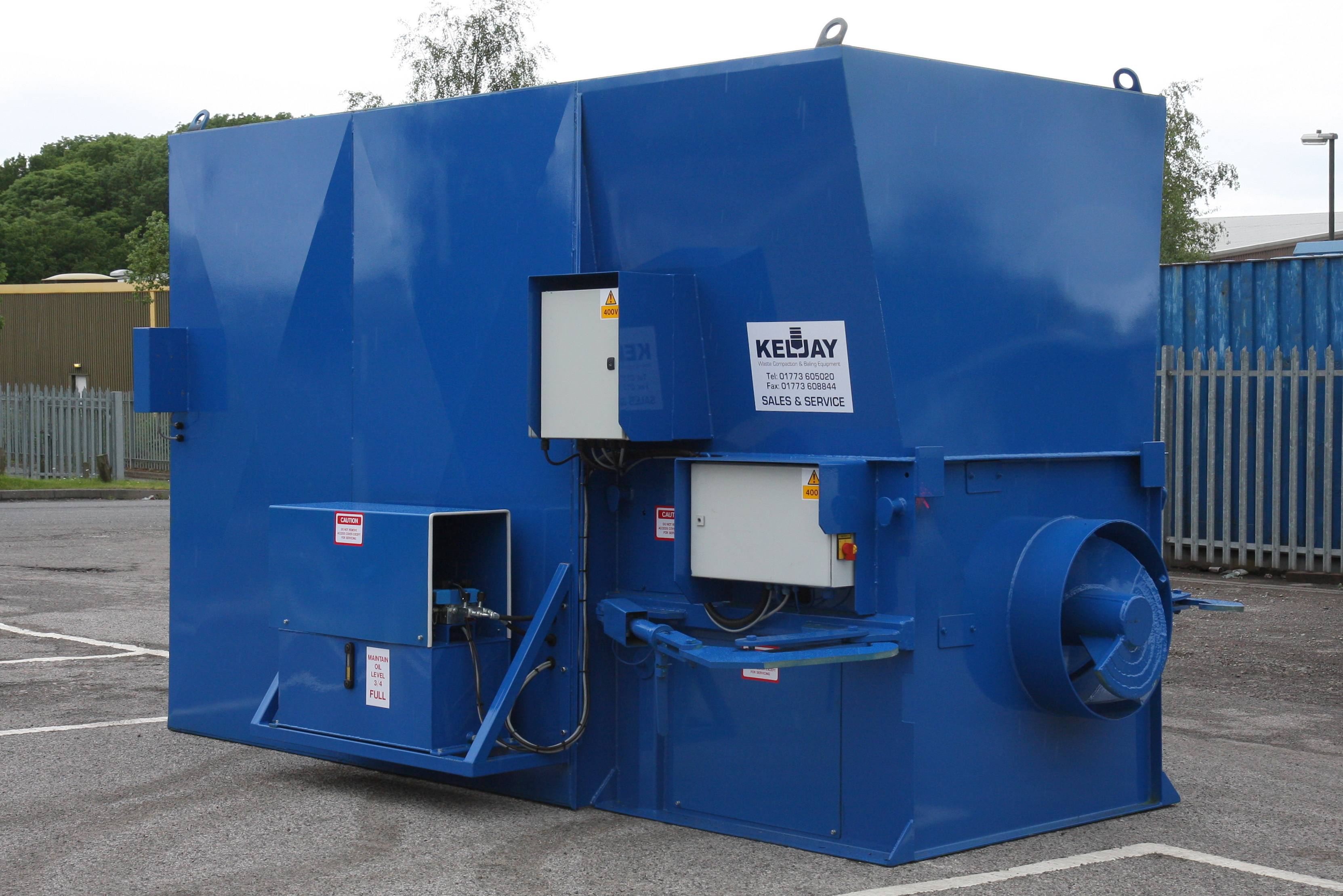 Garbage compactors vertical and portable compactor keljay Garbage compactor